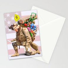 Worries at Home Stationery Cards