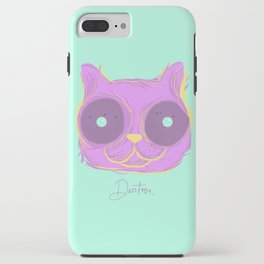 Cat thoughts iPhone Case