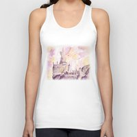 hogwarts Tank Tops featuring hogwarts by impalei