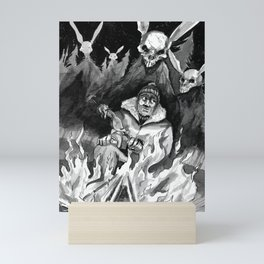 Hunter Beware Mini Art Print