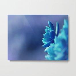 Blue Peace Metal Print
