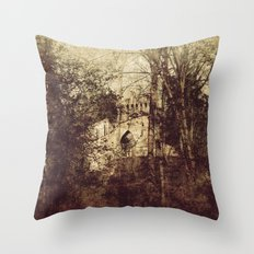 Past 2 Throw Pillow