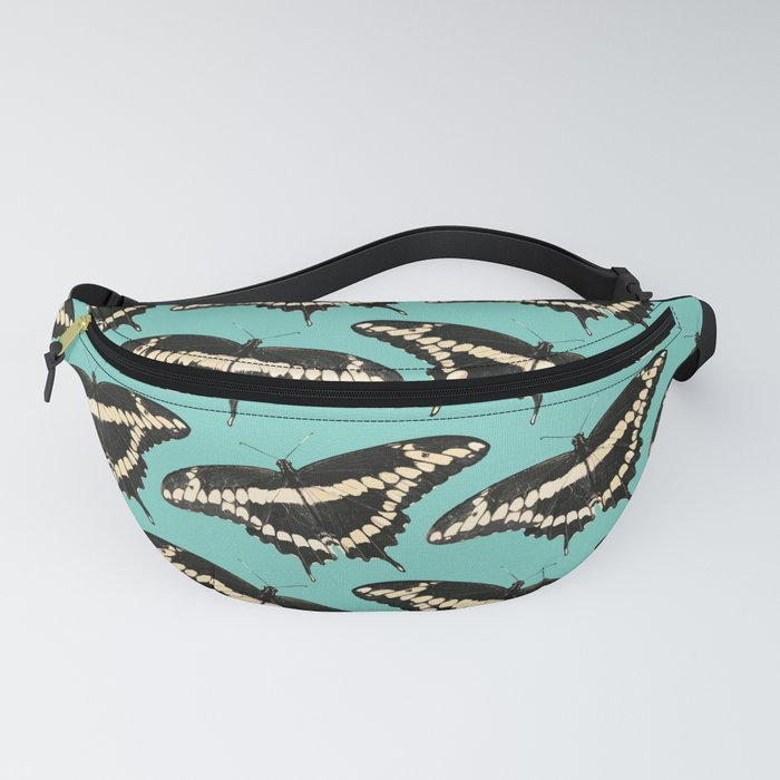 Butterfly Illustrated Pattern Print Fanny Pack
