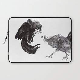 Cock Fight Laptop Sleeve