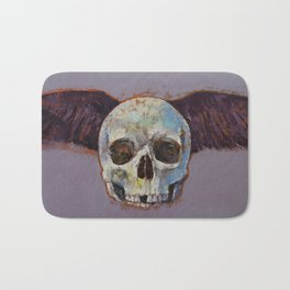 Raven Skull Bath Mat