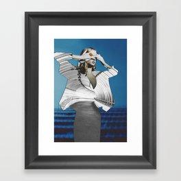 Bundenko collage Framed Art Print