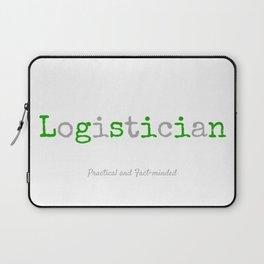 Logistician Laptop Sleeve