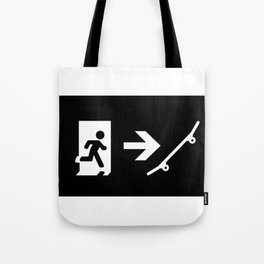 ExitSeriesSkater Tote Bag