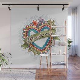Amor Mío Wall Mural