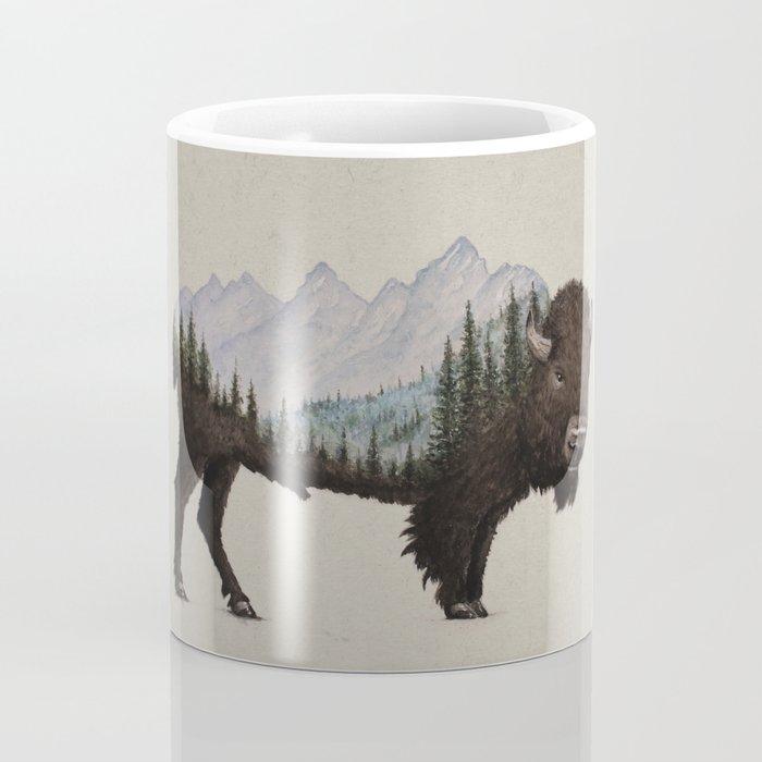 The Land of the Bison Coffee Mug
