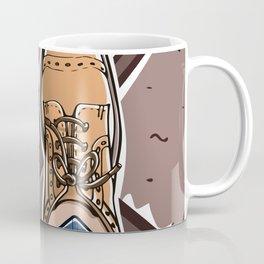 Selfie with Mens Formal Shoes Coffee Mug