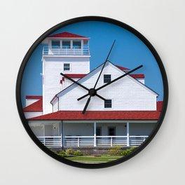 Old Coast Guard Station - Ocracoke Wall Clock