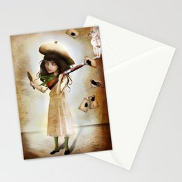 The Little Sharpshooter Stationery Cards