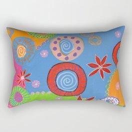 Wheels of Color Rectangular Pillow