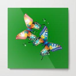 Schmetterlinge Metal Print