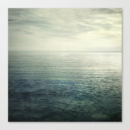 Calm at the sea. Summer dreams Canvas Print