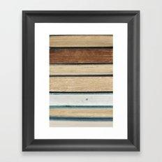 Pages Framed Art Print