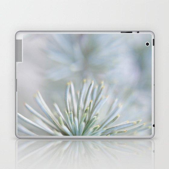pine needles in blurry green shades Laptop & iPad Skin
