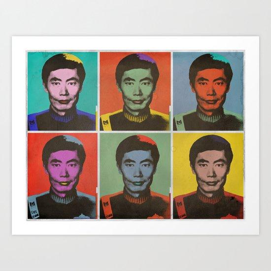 George Takei  Art Print