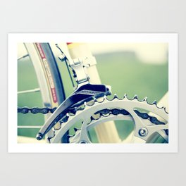 Road Bike Art Print