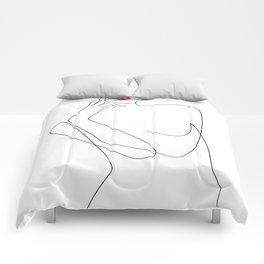 Feminine Minimalism Comforters