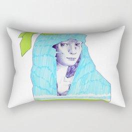 A Traveler  Rectangular Pillow