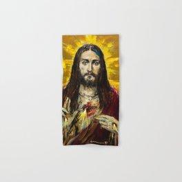 Cor Jesu Sacratissimum Hand & Bath Towel