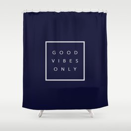 Good vibes only new shirt art vibe love cute hot 2018 style fashion sticker iphone cover case skin m Shower Curtain