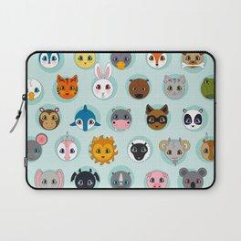 Baby Animal Dots Laptop Sleeve