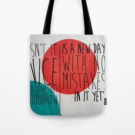 NewDay. Tote Bag