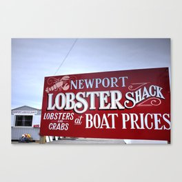 Lobster Shack- Newport, RI Canvas Print