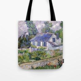 Vincent Van Gogh Houses At Auvers Tote Bag