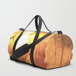 Dandelion Sunrise Wish Duffle Bag