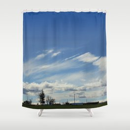 Tract Shower Curtain