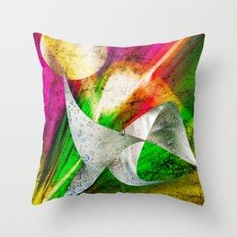Spatium somnium Throw Pillow