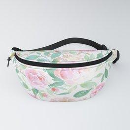 Farmhouse Floral Pastel Fanny Pack
