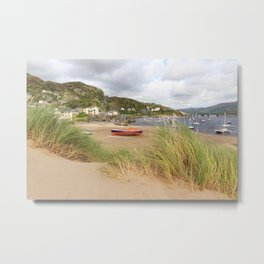 Barmouth Boats Metal Print