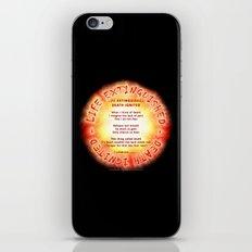 LIFE EXTINGUISHED - DEATH IGNITED - 060 iPhone & iPod Skin