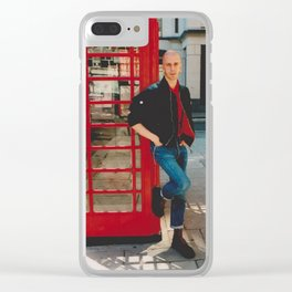 Skinhead Thomaz 2000 Clear iPhone Case