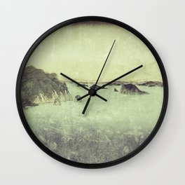 Long Ways to Inchen Wall Clock