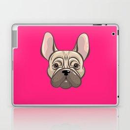 French Pink Bulldog Laptop & iPad Skin