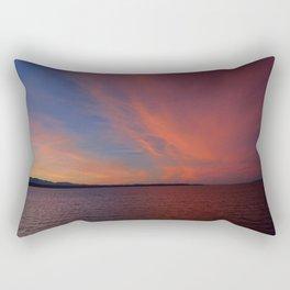 January 2014 Sunset Rectangular Pillow