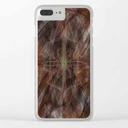 Superficial Disgust Clear iPhone Case