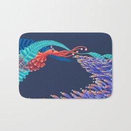 Dancing monster Bath Mat