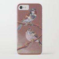 sparrow iPhone & iPod Cases featuring Sparrow by Ju.jo.weh