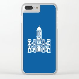 Flag of Split Clear iPhone Case