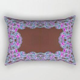 In The Pink Colorfoil Bandanna Rectangular Pillow