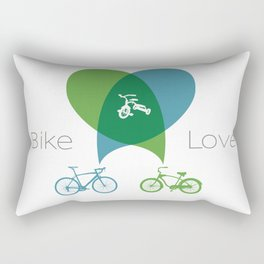 Bike Love Rectangular Pillow