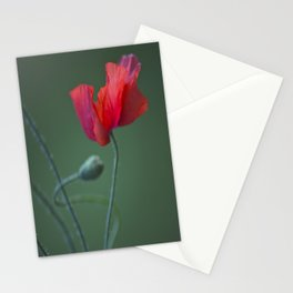 Red Poppy Dance #decor #society6 Stationery Cards
