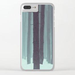 Frozen kingdom Clear iPhone Case